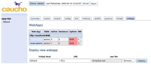Deploying Web-Applications